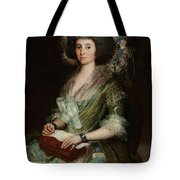 Portrait Senior Sean Bermudes Portrait Of Maria De Borbon Luisy Tote Bag
