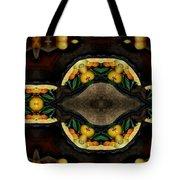 Portrait  Setting Of Fruit Reflection Art Tote Bag