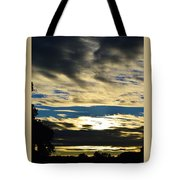 Portrait Sunrise Tote Bag
