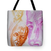 Portraits In 3b Tote Bag