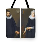 Portraits Of Ijsenbrand Allerts Tote Bag