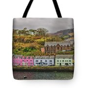 Portree Harbour Tote Bag