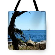 Portsmouth Harbor Light Tote Bag