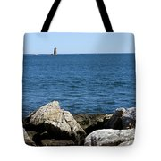 Portsmouth Harbor Lighthouse Tote Bag