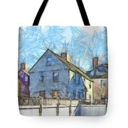 Portsmouth New Hampshire Pencil Tote Bag