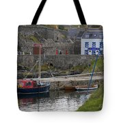 Portsoy Harbour Tote Bag