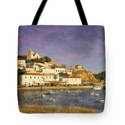 Portugal, Ferragudo Village  Tote Bag