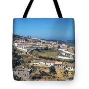 Portugese Hillside Village Tote Bag