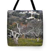 Portuguese Almond Plantation Tote Bag