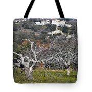 Portuguese Almond Plantation Tote Bag