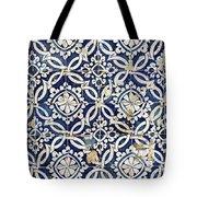 Portuguese Glazed Tiles Tote Bag
