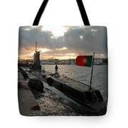 Portuguese Navy Submarine Tote Bag