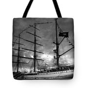 Portuguese Tall Ship Tote Bag