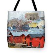Porvoo Town Tote Bag