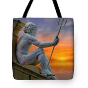 Poseidon - God Of The Sea Tote Bag