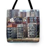 Posh Burbs Tote Bag by Stephen Mitchell