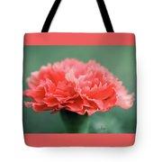 Posh Carnation Tote Bag