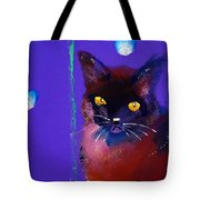 Posh Tom Cat Tote Bag
