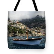 Positano By The Water Tote Bag