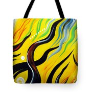 Positive Energy. Abstract Art Tote Bag