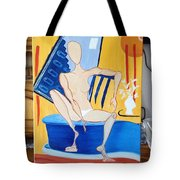 Post-coital Tote Bag