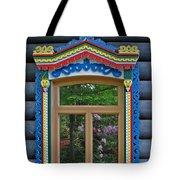 Post Dacha Window Tote Bag