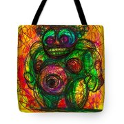 Post Modern Venus Of Willendorf  She's Mad As Hell Guys  Rightfully So Tote Bag