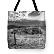 Post Of Nowhere Tote Bag
