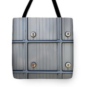 Post Office Boxes Tote Bag