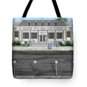 Post Office In Thermopolis Tote Bag
