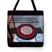 Post Office Pies Tote Bag