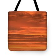 Post Sunset Clouds Tote Bag