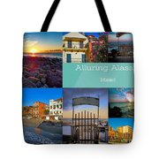 Postcard From Alassio Tote Bag