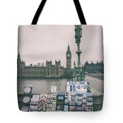Postcards From Westminster Tote Bag