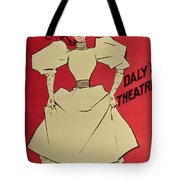 Poster Advertising A Gaiety Girl At The Dalys Theatre In Great Britain Tote Bag