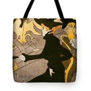 Poster Advertising Le Divan Japonais Tote Bag by Henri de Toulouse Lautrec