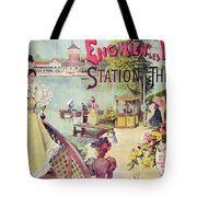 Poster Advertising Spa Resort  Tote Bag