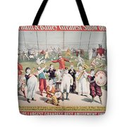 Poster Advertising The Barnum And Bailey Greatest Show On Earth Tote Bag
