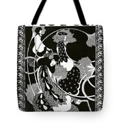 Poster Advertising Victor Bicycles Tote Bag