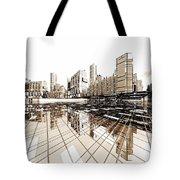Poster-city 4 Tote Bag