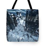 Poster-city 8 Tote Bag