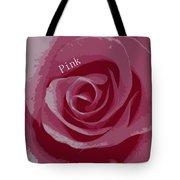 Poster Rose Tote Bag