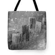 Posts In A Row Tote Bag