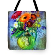 Pot Of Flowers Tote Bag