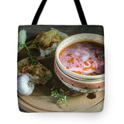 Pot Of Ukrainian Borsch Tote Bag
