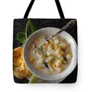 Potato Corn Chowder Tote Bag
