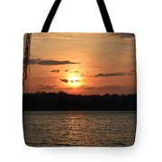Potomac River Sunset In March Tote Bag