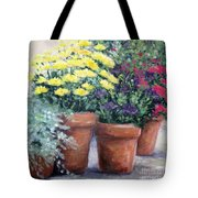 Pots In Bloom Tote Bag