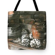 Pots Of A Fireplace Tote Bag