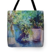 Potted Plant Study Tote Bag